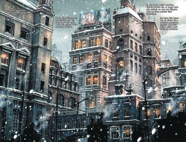 Frohe Weihnachten aus Gotham.