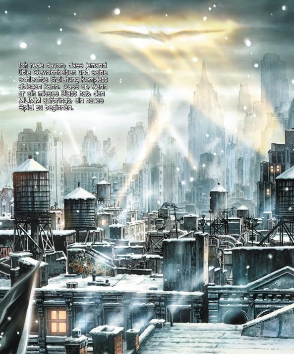 Gotham an Weihnachten ohne den dunklen Ritter?