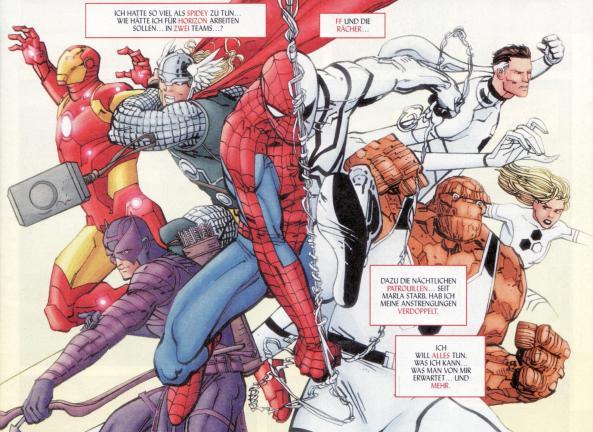 Spider-Man im Stress!