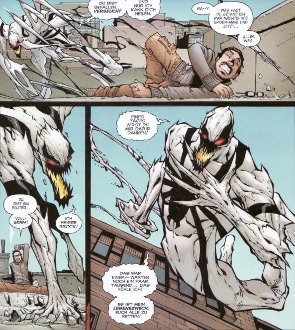 Anti-Venom spielt eine nicht gerade unwichtige Roll in diesem Drama.