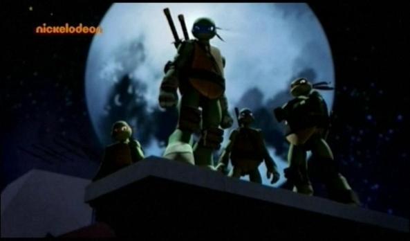 Die Turtles in fast schon klassischer Pose.