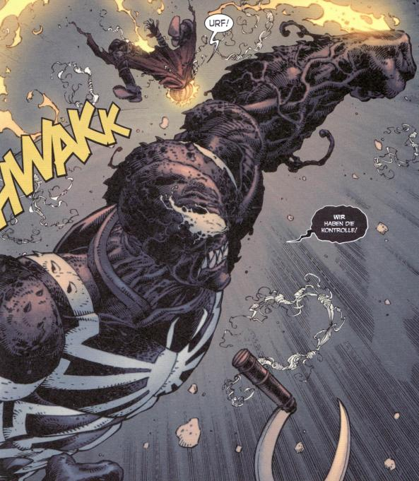 Venom in Action.
