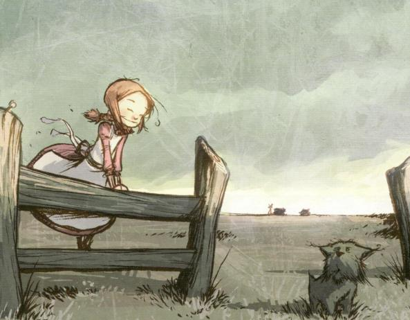 Dorothy in ihrer Heimat in Kansas.