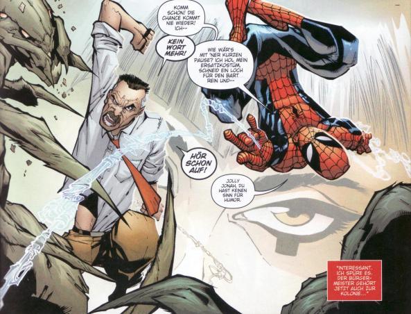 Spider-Man im Team Up mit Spider-Jonah.