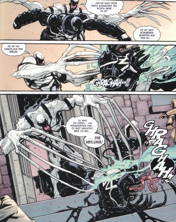 Auch Anti-Venom spielt eine wesentliche Rolle in Spider-Island.