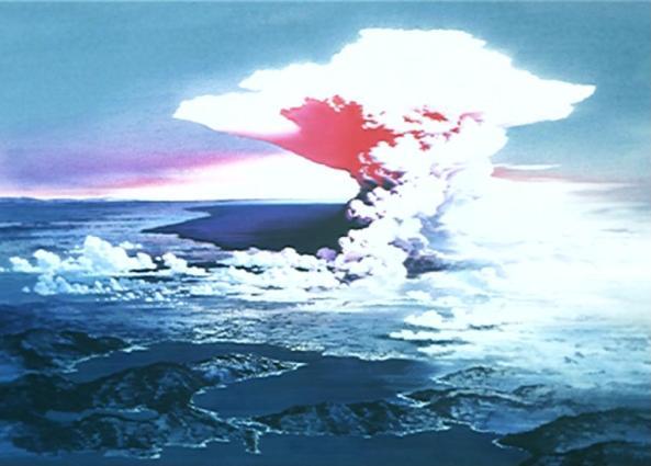 Nach der Detonation...