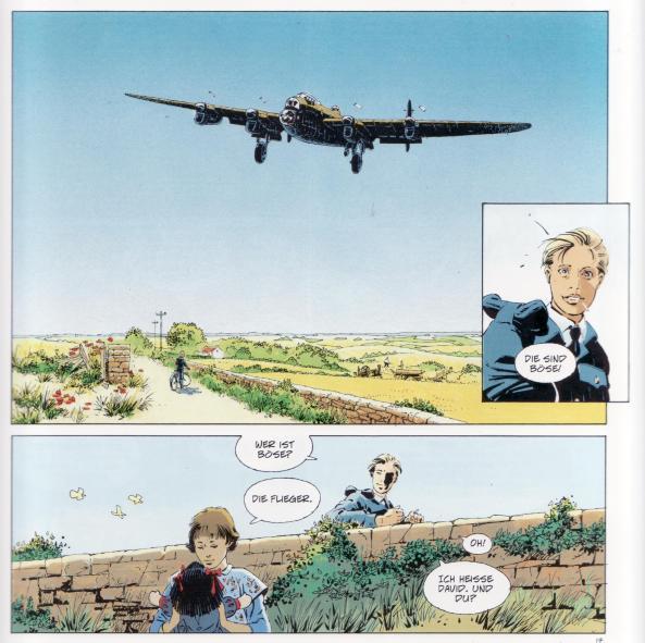 Wunderschöne Landschaften im Gegensatz zu den schlimmen Ereignissen 1943.