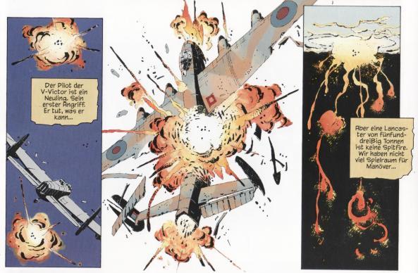 Junge Piloten werden wie Kanonenfutter verheizt zum Ende des 2. Weltkrieges.