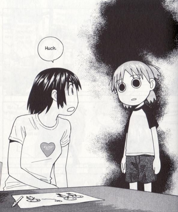 Yotsuba hilft bei Liebeskummer.