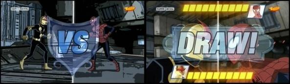 Spidey und Nova im Duell.
