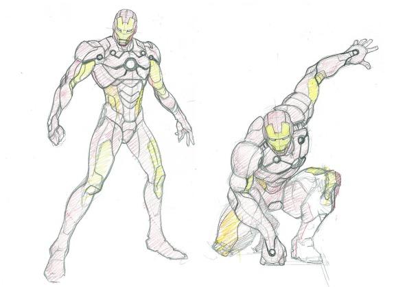 Iron Man Konzept Art
