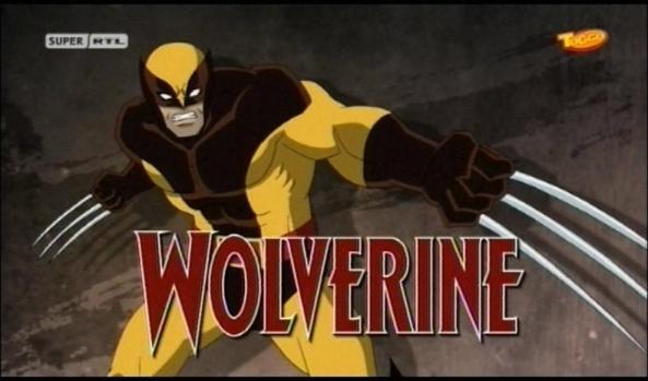 Wolverine! Ach so. Steht ja schon im Bild.