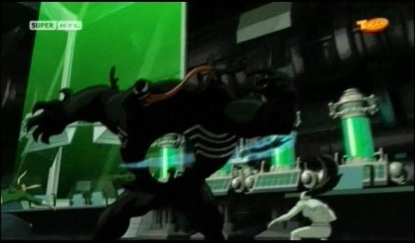 Das Team gegen Venom.