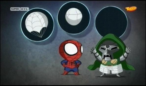 Das Erfindergenie Spider-Man.