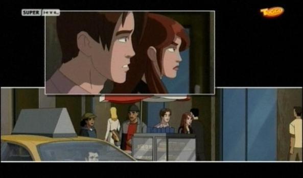 Peter begleitet seine Freundin MJ.