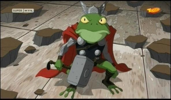 Ob ihr es glaubt, oder nicht. Das ist Thor.