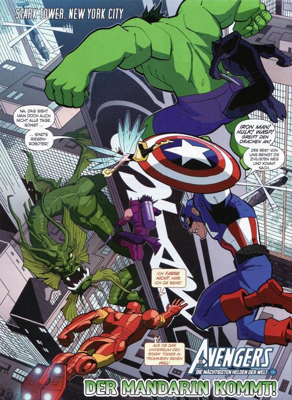 Die Avengers gegen Fing Fang Foom!