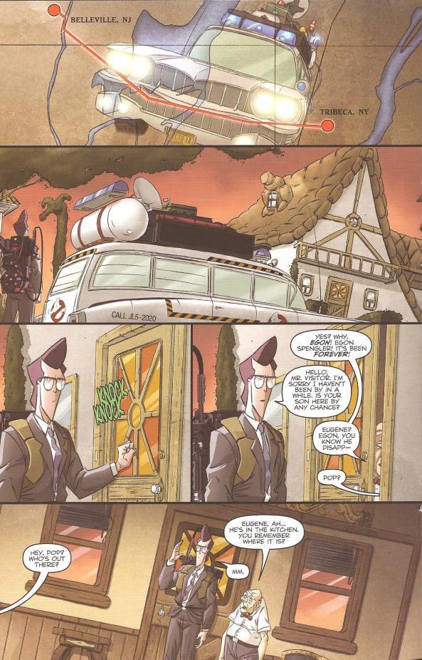 Die Vergangenheit holt Egon ein.