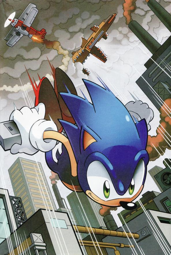 High Speed Sonic, wie man ihn kennt.