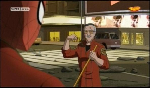 Auch Stan packt bei Damage Control mit an.