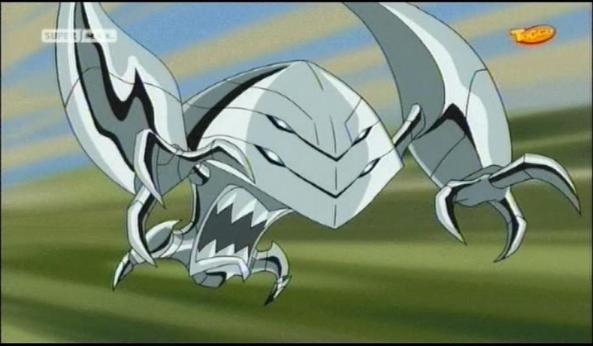 Ein ausserirdischer, äußerst gefährlicher Eroberer, die Phalanx.