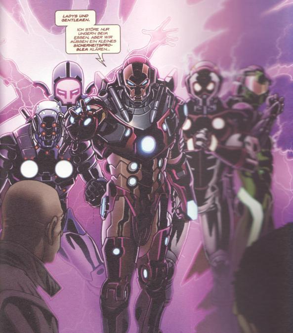 Ein Team von Iron Men!