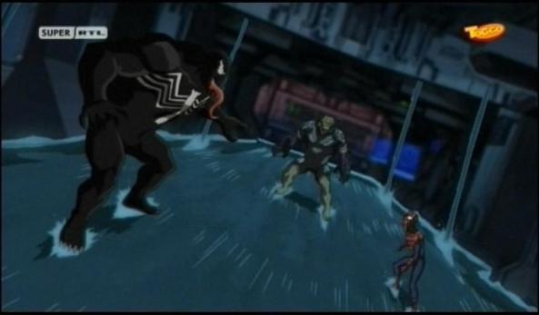 Na toll. Nicht nur der Kobold, auch noch Venom!