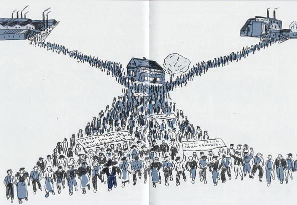 Massen werden mobilisert.