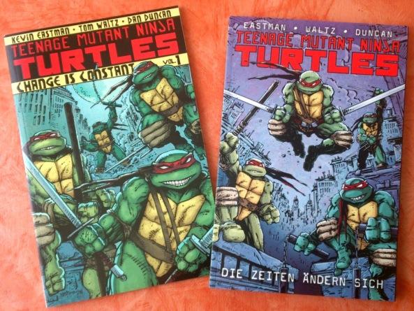 Die beiden Frontcover (links: US, rechts: DT)