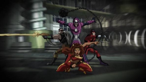 Die furchtbaren Vier. Nur ein paar der Gegner von Spider-Man.