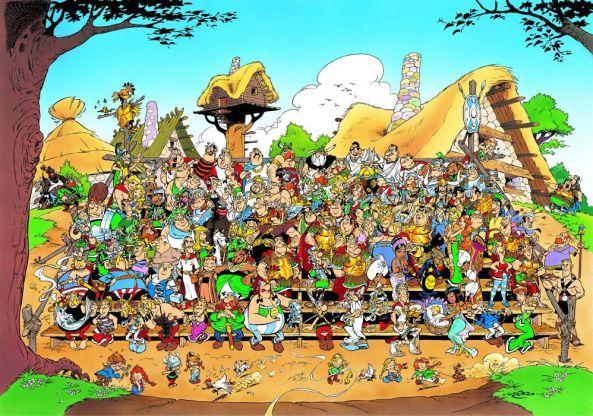 Asterix Poster Vorbesteller
