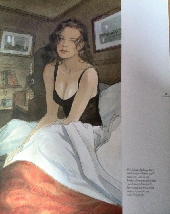 Jeanne in ihrem Zimmer
