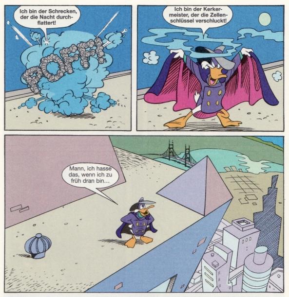 Die frühen Abenteuer von Darkwing Duck.