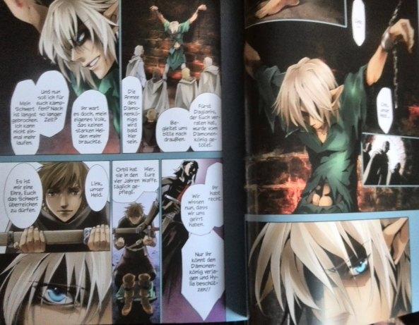 Zelda Manga von  Akira Himekawa