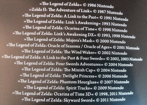 The Legend of Zelda - Spiele