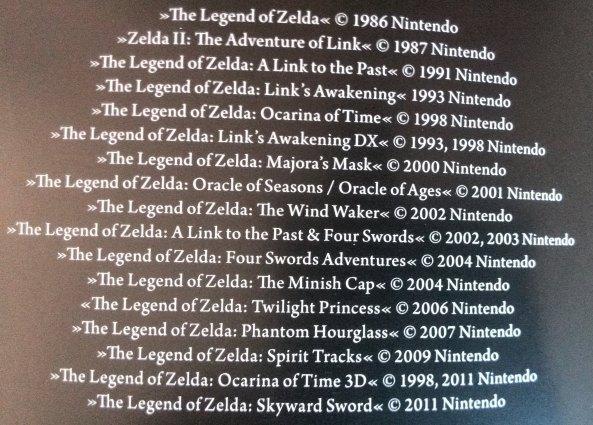 The Legend of Zelda - Spiele
