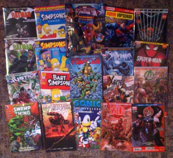Comiclieferung 11-2013