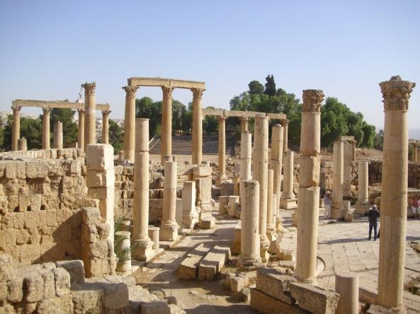 In Jerash