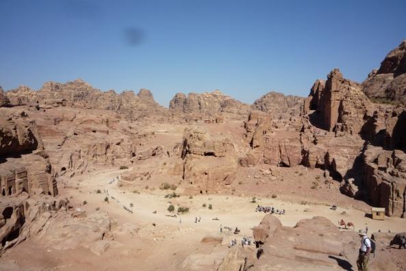 In Petra (Jordanien)