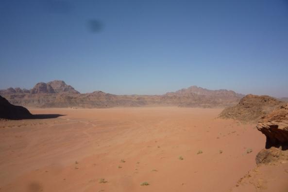Die Wadi Rum Wüste