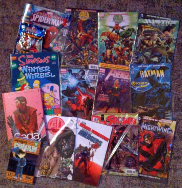 Comiclieferung 12-13