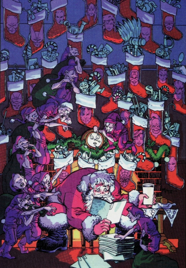 Selbst der Weihnachtsmann kommt von Marvel Comics nicht los.