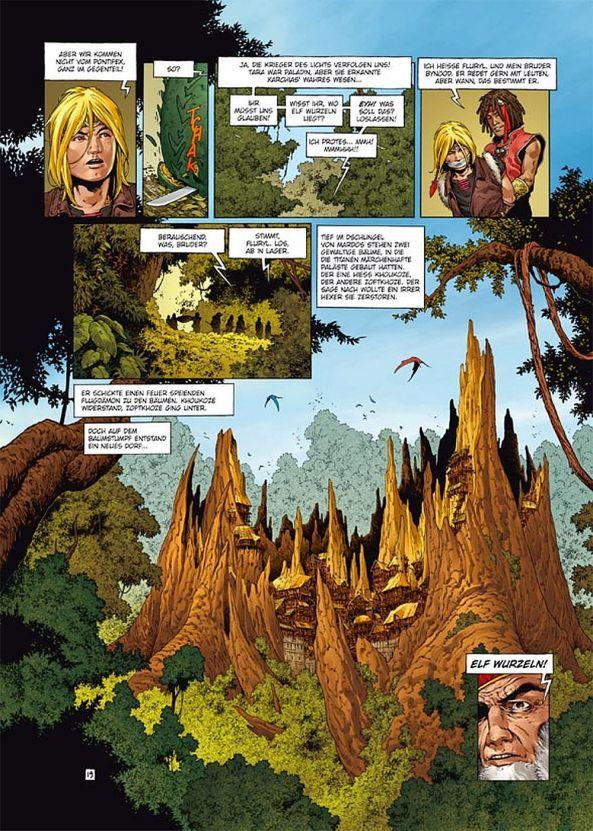 Das geheimnisvolle Dorf Elf Wurzeln