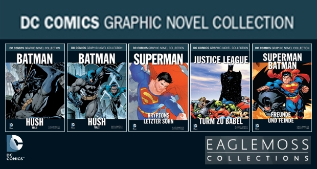 Die DC Comics Graphic Novel Collection bei Eaglemoss, alle Infos!