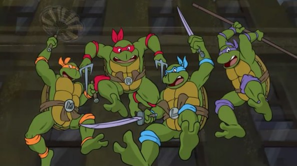 Wurmattacke Hero Turtles Cameo