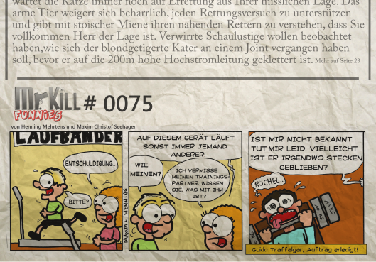 004Mr Kill Zeitungsfunny # 075