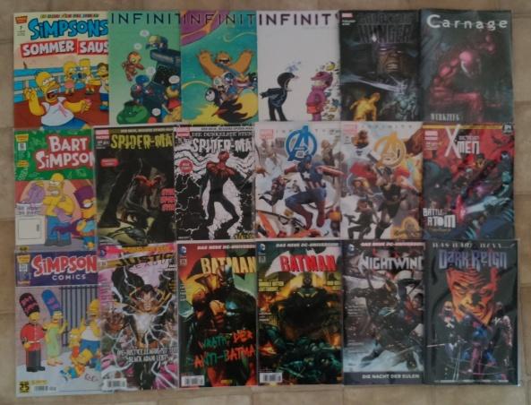 Comiclieferung 06-07-14