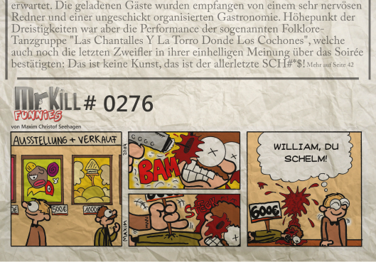 007Mr Kill Zeitungsfunny # 276