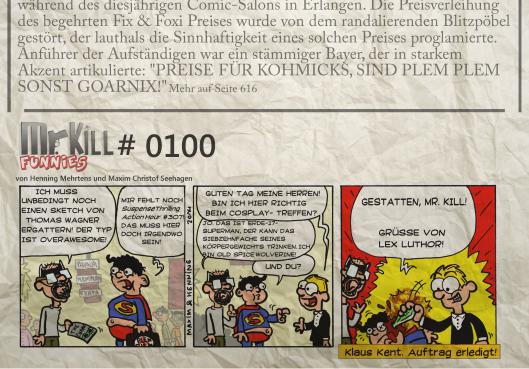 006Mr Kill Zeitungsfunny # 100