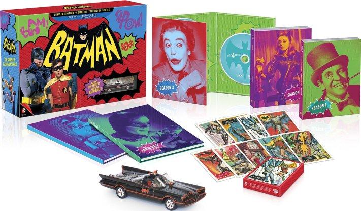 Batman 60er Live Action Serien Blu-Ray Set